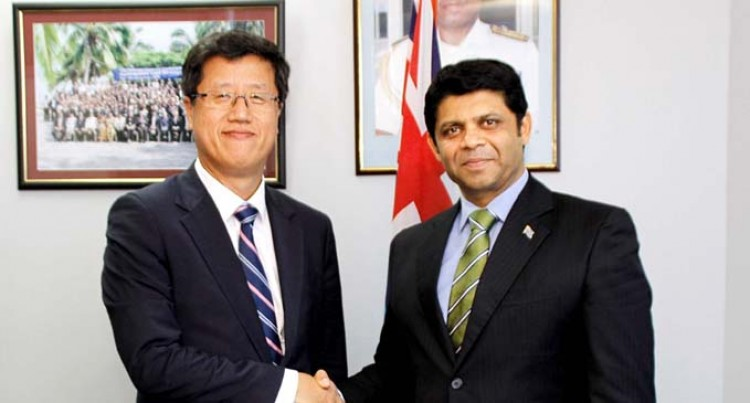 A-G Discusses Post Winston Relief Effort With ADB Executive Director