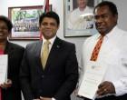 Duo Receives Civil Marriage Celebrant Certificates