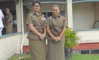 Women Officers Continue To  Make Waves