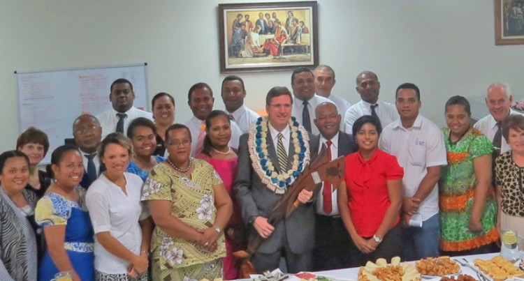 Last Visit For LDS Church Pacific Area President