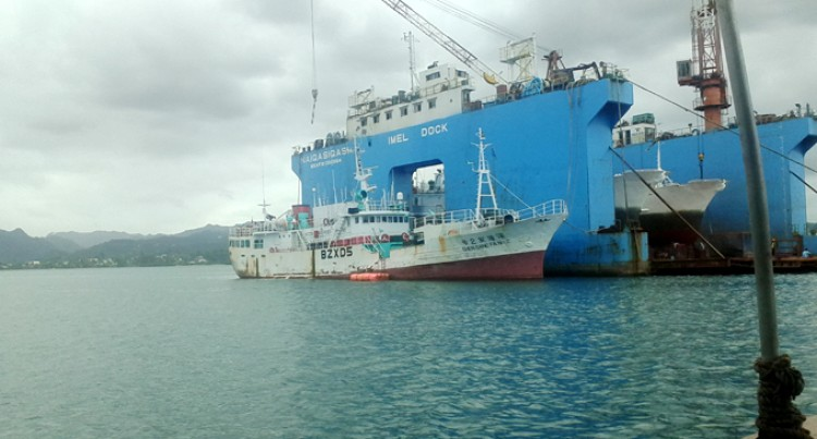 48 Vessels Use Floating Dock
