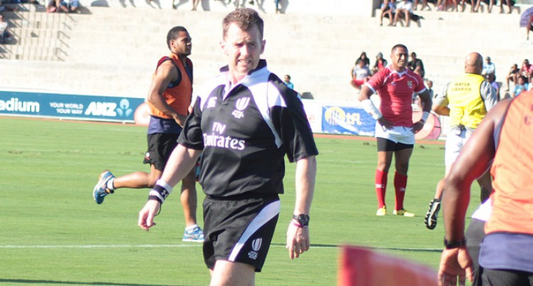 Keep Moving Forward: Ref Tells Flying Fijians