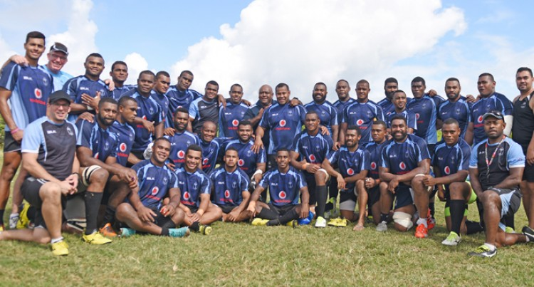 Vodafone Flying Fijians Against Manu Samoa