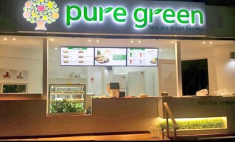 Grace Road Open Pure Green Restaurant At Damodar
