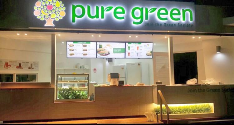 Grace Road Open Pure Green Restaurant At Damodar