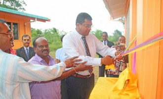 Minister Reddy Opens New Classrooms