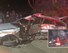 Couple Survive Horror Crash; Driver Rushed To CWM Hospital