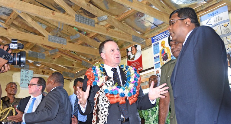 Naiyala Villagers Celebrate Key Visit