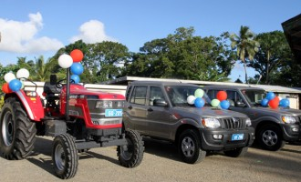 Donated Vehicles Boosts Agriculture Sector