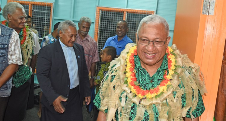 PM Commissions Lomaiviti Clubhouse