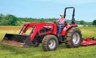 Multiple Task-Performing Mahindra Tractors