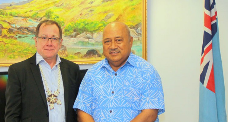 Ratu Inoke, McCully Discuss Key's Visit