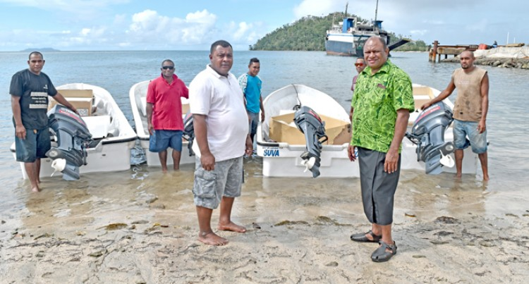 Rehab Work From Ministry Of Fisheries And Forests Starts In Vanuabalavu