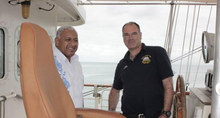 Disability Charity Sail Ship Visits Here