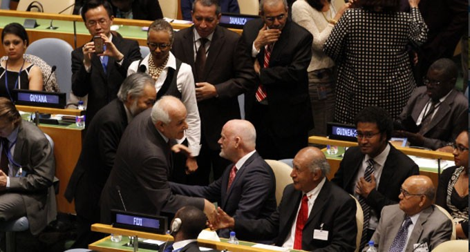 UN Elects Ambassador Thomson For Top General Assembly Post