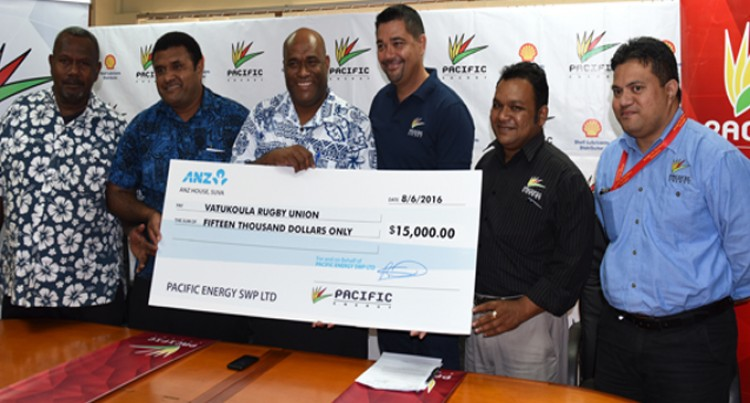 Pacific Energy Supports Vatukoula Rugby