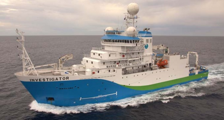 Research Vessel Vessel RV Investigator To Visit Fiji This Month