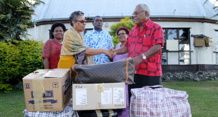 Women's Group Gives Utensils,  Clothes For Tabuya Villagers