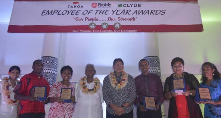 Tanoa Group Awards Top Staff