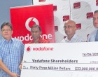 Vodafone Hands Over $33m To FNPF, ATH As Dividends