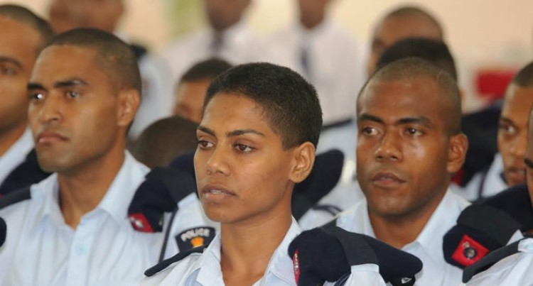 Opening Of The 2016 Basic Recruits Course At The Fiji Police Academy