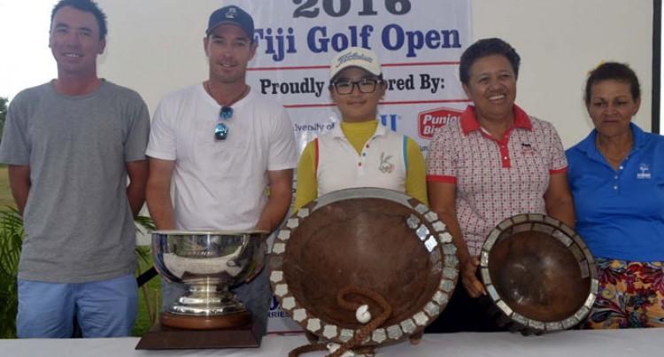 Paddison Wins Fiji Open