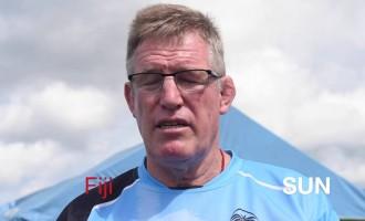 John McKee, Head Coach Of Vodafone Flying Fijians