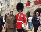 Col Seruiratu Watches Queen's Birthday Event