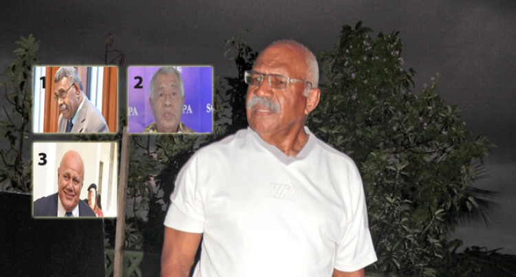 Rabuka: I'm In The  Race