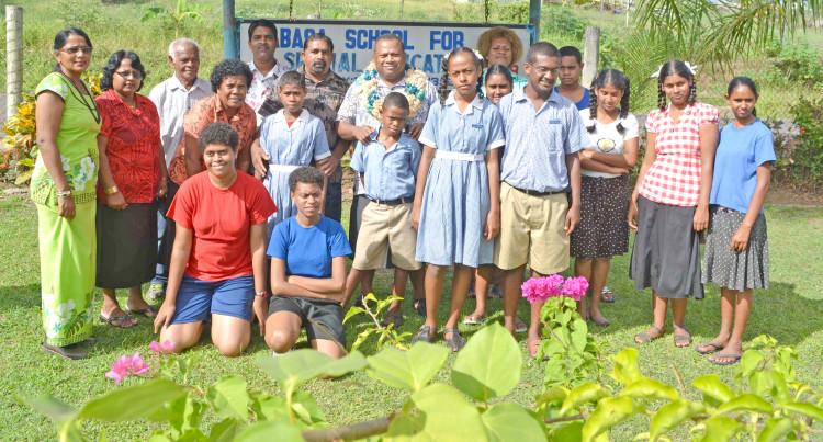 Seruiratu Praises Special Needs Students
