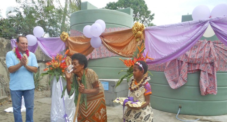 Malamala  Village Gets Piped Water