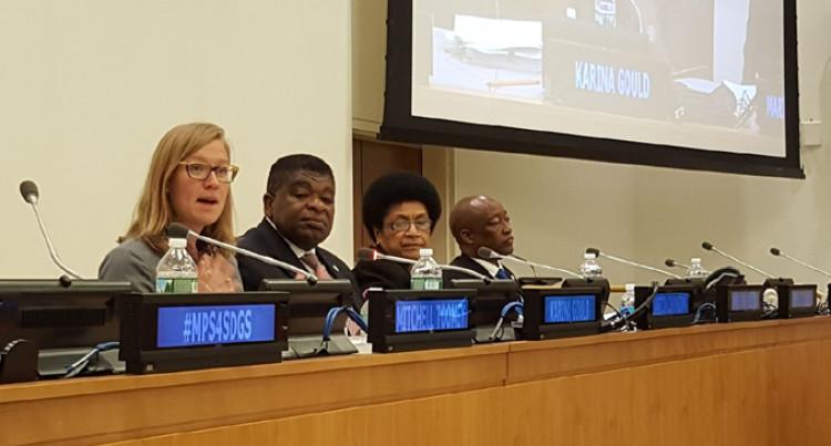 Dr Luveni Tells UN Forum Of Our Parliament's Mobilisation