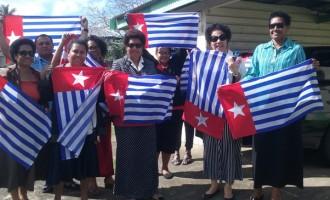 Ro Teimumu Flies The Papuan Flag