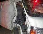 Crash At Walu Bay; Van Driver Unconscious