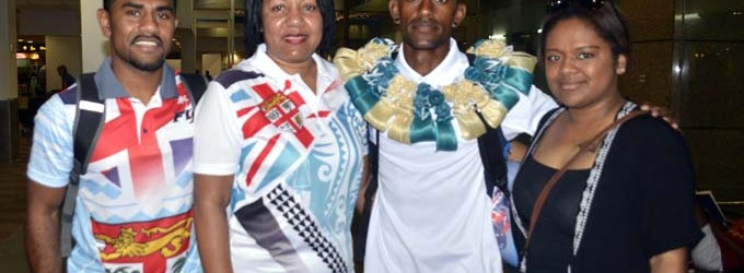 Mum Flies In From NZ To Farewell Son