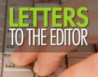 Letters To The Editor, 10th, September, 2016