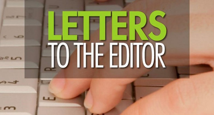 Letters To The Editor , 13th October 2016