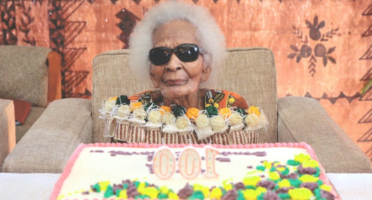 Celebrating A  Centenarian's Life