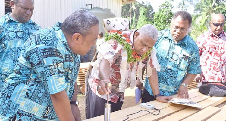 Timber Facility To Assist Gau People