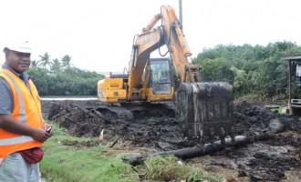 Vatuwaqa Bridge Works Begin
