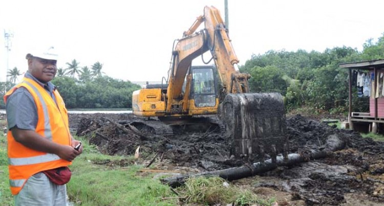 Vatuwaqa Bridge Works Begin