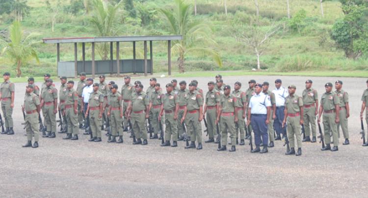 Trainees End Junior Leadership Course