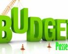 2016-17 Budget Passed