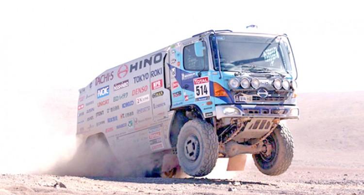 Efforts Kick Off in Prep  for Dakar Rally 2017