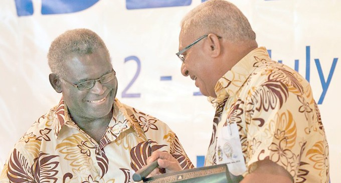 New Pacific Islands Development Forum Chair