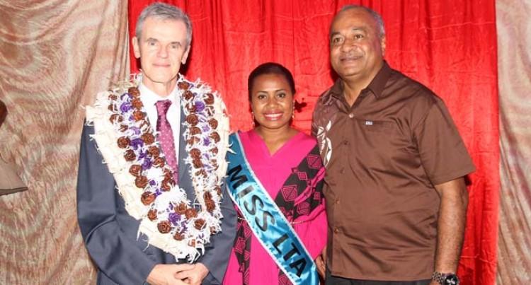 Fijian Fashion Coming Up: French Ambassador