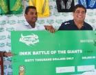 Giants Battle Tough: Patel