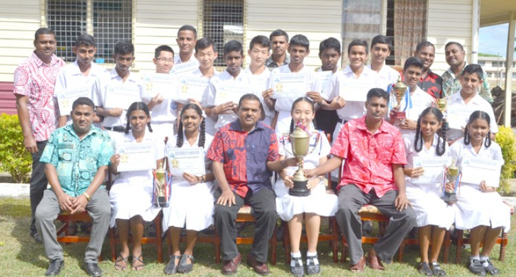 Labasa College Wins Four Northern Mathematics Competition Level