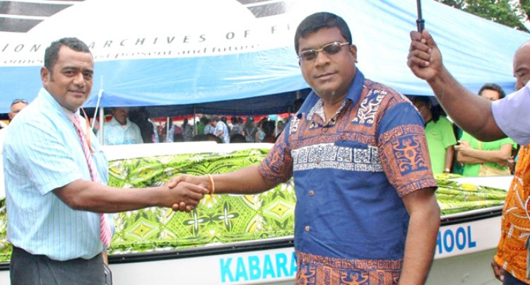 New Boat To Assist Kabara Students In Lau
