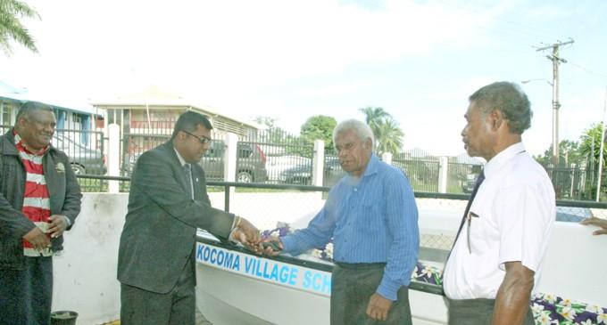 19k Boat Engine For Kocoma Village School Fiji Sun